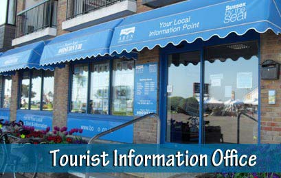 Picture of the tourist and visitor information office