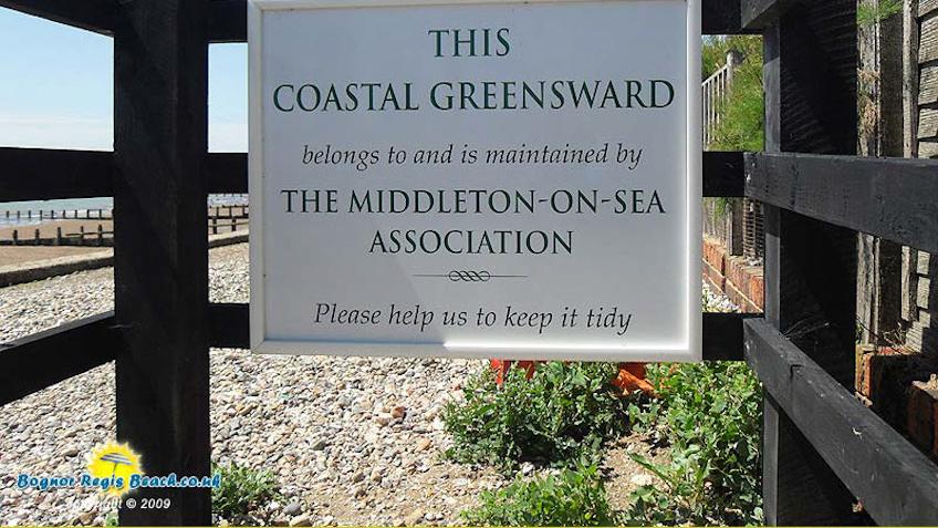 Middleton-On-Sea beach