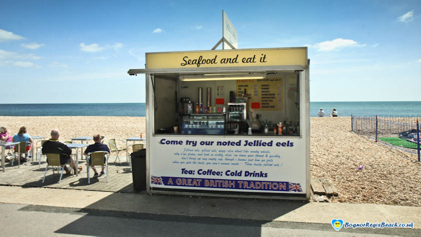Seafront concession stand