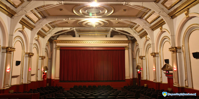 One of the screens at the Picturedrome Cinema