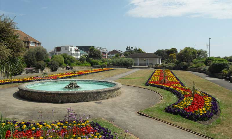 Marine Park Gardens water fountain