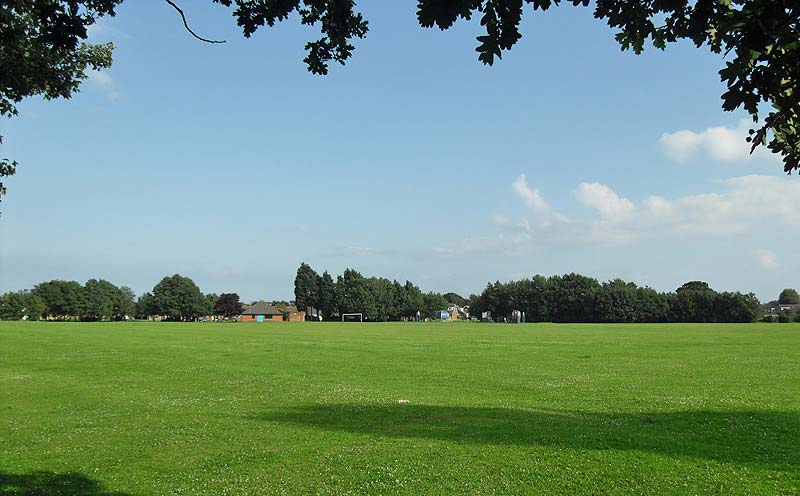 Avisford Park Rose Green looking south